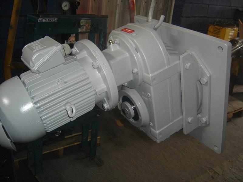 Manutenção de motoredutores