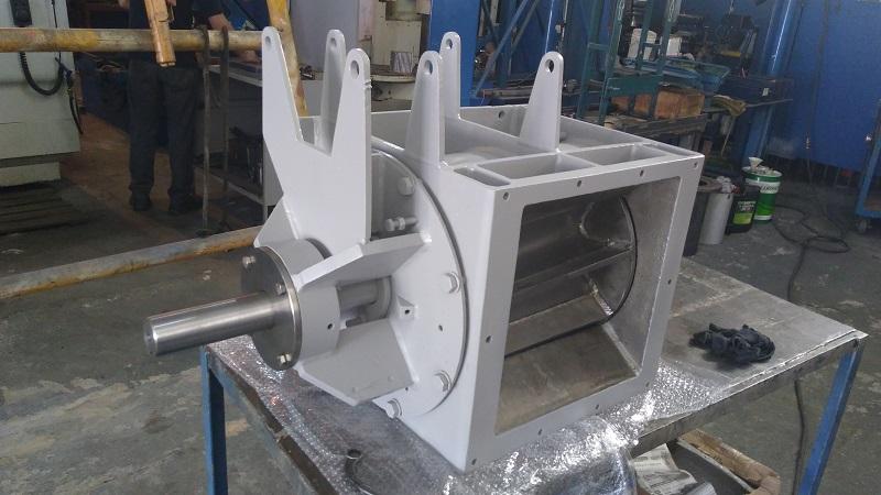 Manutenção de válvulas rotativas