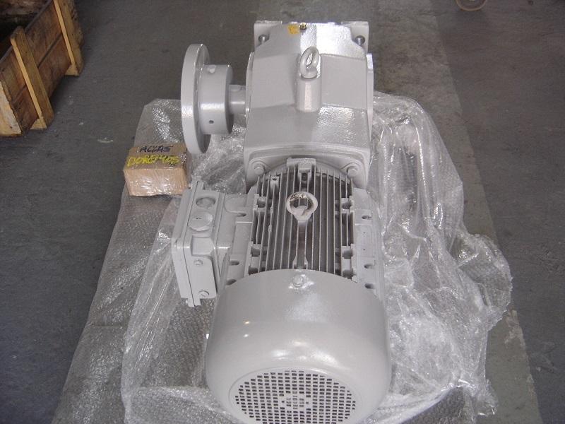 Reforma de motoredutores